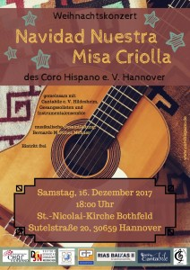 Weihnachtskonzert in Hannover mit dem Coro Hispano